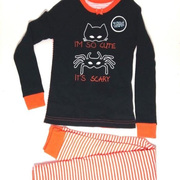 halloween pajama set size 3t